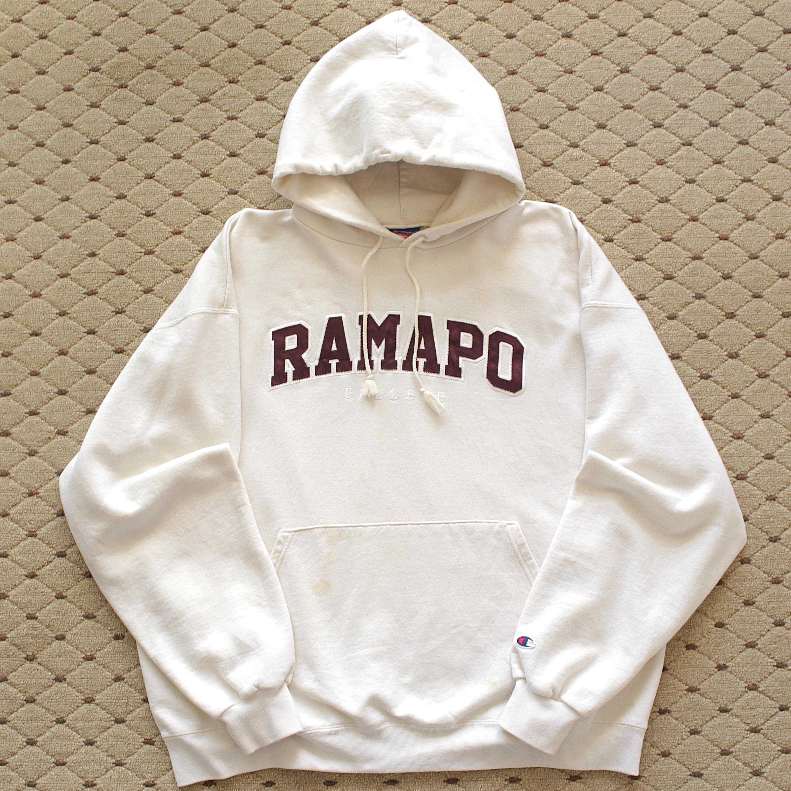 1990's Champion RAMPO College. Sweat (110size)