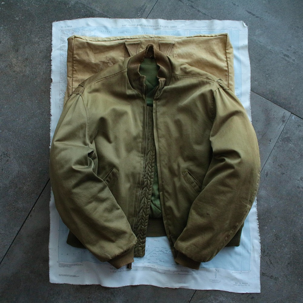 1970's USARMY Tanker Jacket last Model (100-105size)