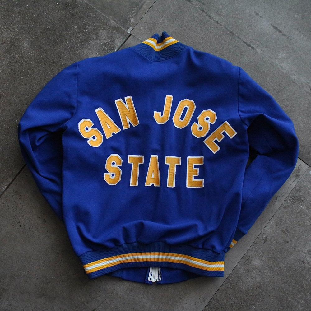 Rare 1970's Champion SAN JOSE Soccer Varsity Jacket (95size or Womans)
