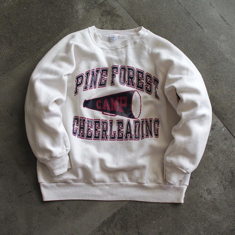 Rare 1980's Champion Pine Forest Camp Sweatshirt (100size)
