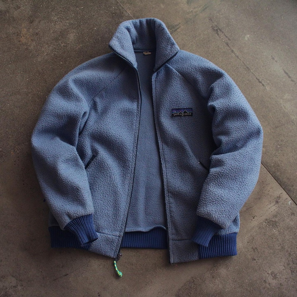 Rare 1980's Patagonia Reverse Pile Full Zip-up (100size)