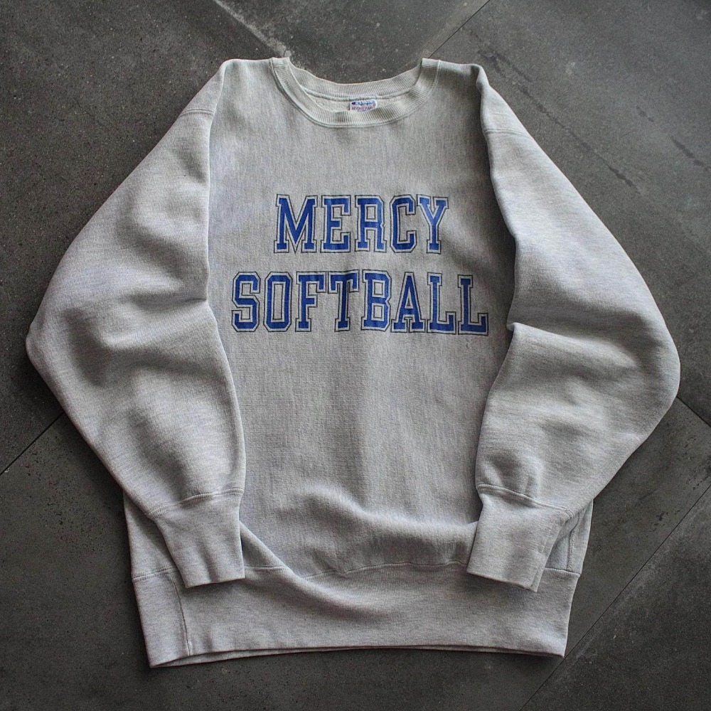 Rare Early 1990's Champion Mercy Softball. ReverseWeave (100-105size)