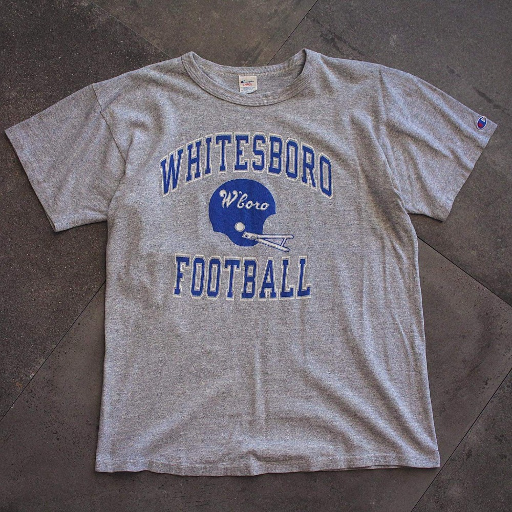 Rare 1980's Champion Whitesboro Football T-Shirt (100size)