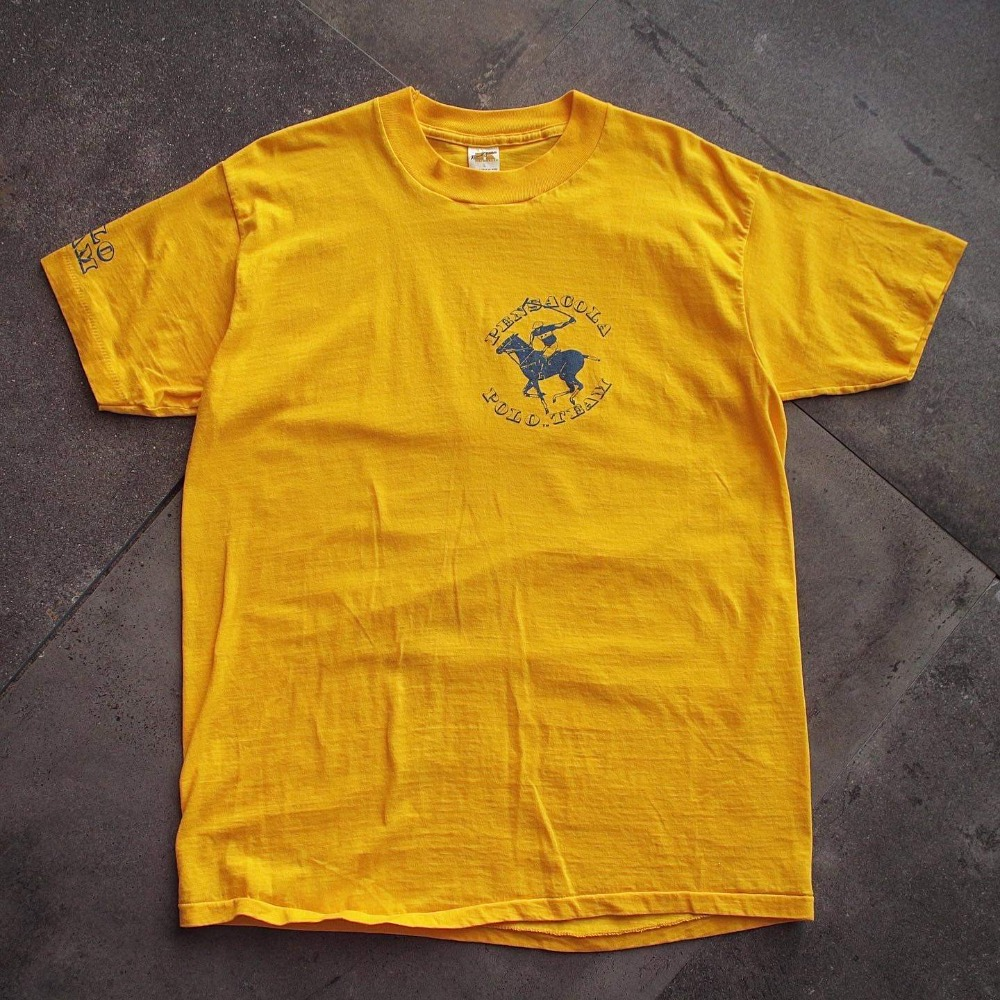 1970's Russell Polo Team T-Shirt (100-102size)