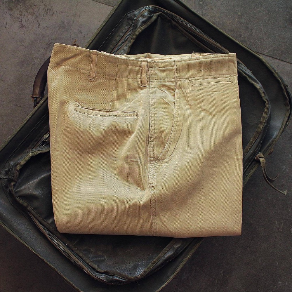 1940's WWII USARMY Officer Chino Pants (31-32inch)