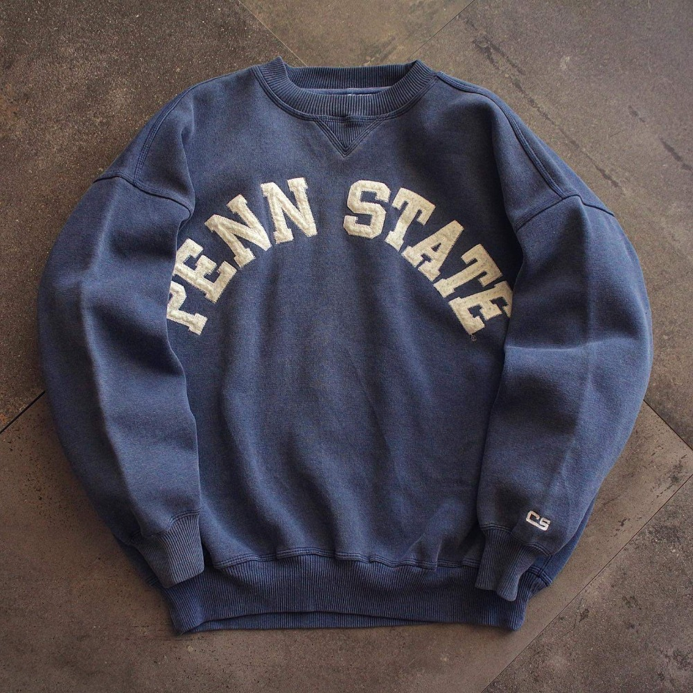 1990's Cable Sprotswear PENN Univ. Single V Sweatshirt (100-105size)