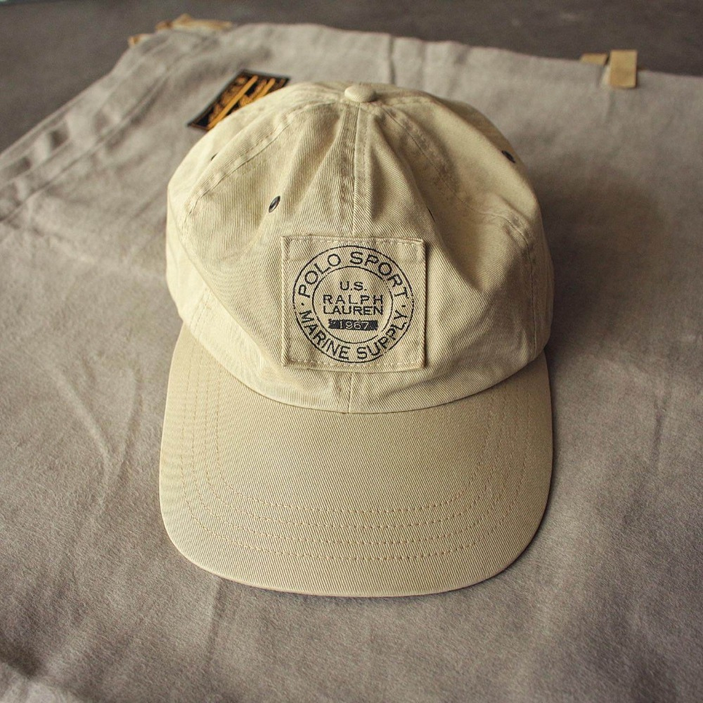 Rare 1990's Polo Sports Marine Supply Cap (Free size)