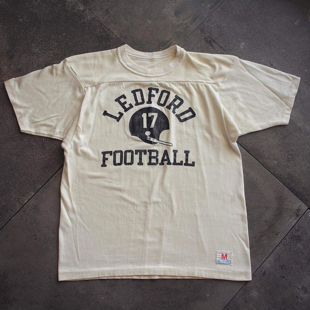 Rare 1970's Champion Ledford Football Shirt (loose 95size or Womans)