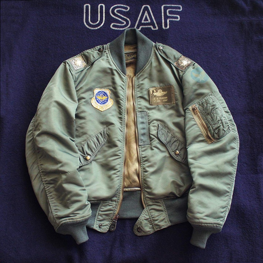 Rare 1950's USAF L-2B Flight Jacket (95-100size)
